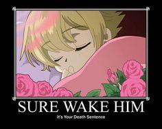 S'rsly, don't wake Honey [OHSHC]