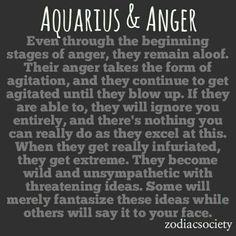 Zodiac Society - Aquarius & Anger: Agitated and Unavailable Aquarius Traits, Astrology Aquarius, Aquarius Love, Aquarius Quotes, Aquarius Woman, Age Of Aquarius, Zodiac Signs Aquarius, Zodiac Quotes, Aquarius Images