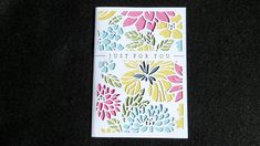 Personalized Women's Birthday Card, Anniversary, For Wife, Mom, Sister, Aunt, Nana, Mother's Day, Laser Cut, Garden Floral, Customizable by ACardOccasion on Etsy