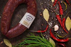 Chorizo, Food Packaging, Packaging Design, Biltong, Beef Steak, Bike Design, Sausages, Restaurant Design, Food Photography