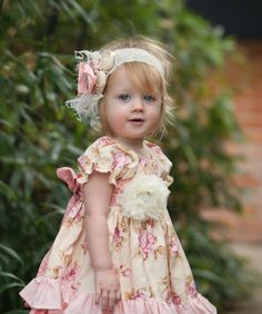 Easter headband, girls headpiece, shabby chic head band, girls spring outfit. $24.00, via Etsy.