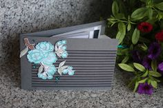"Polly kreativ: Minialbum mit Wasserfall-Technik ""Frohe Osterbotschaft SU"""