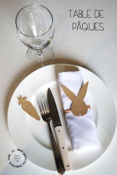 Joyeuses Pâques! kit de table Mr Lapin