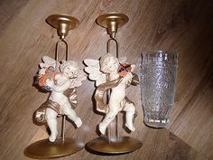 Prodám dva krásné svícny andílci, koukněte do mé