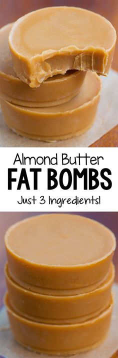 3 Ingredient Almond Butter Fat Bombs, low carb and keto Sugar Free Desserts, Low Carb Desserts, Low Carb Recipes, Dessert Recipes, Keto Fat, Low Carb Keto, Fodmap, Almond Butter Fat Bombs, Almond Butter Keto