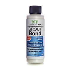 Bonds new grout to old grout 4 oz bottle