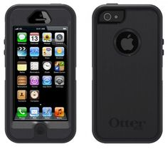 Otterbox Skin for iPhone 5 & 5S - Retail Packaging - Coal #OtterBox