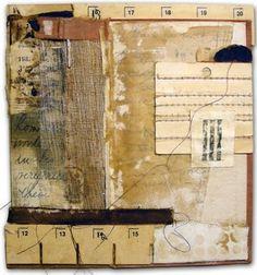 Crystal Neubauer Original Fine Art Collage Mixed Media
