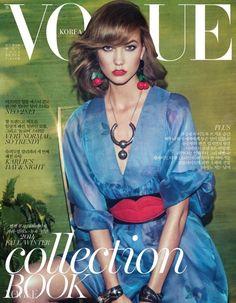 Karlie Kloss para Vogue Corea Mayo 2014