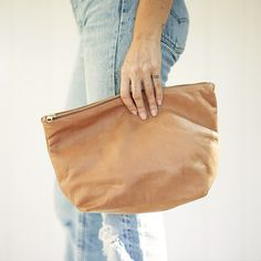 Leather Clutch – General Store