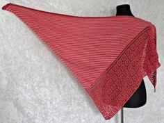 Strickanleitung Tuch, Dreieckstuch stricken Amrun