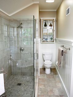 1000 images about my favorite bath crashers bathrooms on for Small galley bathroom ideas