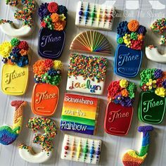 Rainbow birthday by You Can Call Me Sweetie