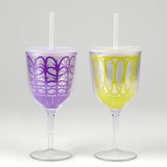 Sippy wine glasses