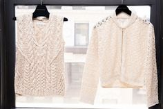 Nellie Partow Talks Her Spring 2017 Collection and Boxing: White Crochet Top and Sweater | coveteur.com