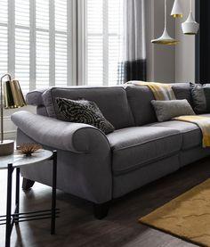 ROM Sofas' Fortuna Sofa  #ROMsofas #comfort #style #sofa  http://www.romsofas.co.uk/sofa-collections/fortuna/
