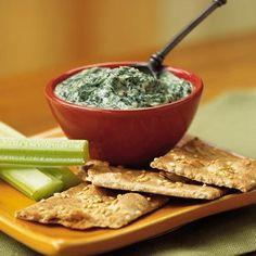 Spinach-Parmesan Dip Recipe | MyRecipes