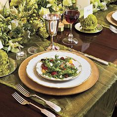 Grand and Gracious Christmas Dinner Menu - (serves 8)- Baby Blue Salad (pictured)  Creamy Bell Pepper 'n' Tomato Soup  Beef Tenderloin With Henry Bain Sauce  Sweet Onion Pudding  Simple Roasted Asparagus  Refrigerator Yeast Rolls  Cream Cheese-Coconut-Pecan Pound Cake