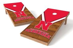 Nebraska Cornhuskers Cornhole Board Set - Uniform