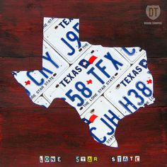 Texas - I'd like that on my wall!