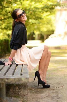 fleur-ange: Je rêve de petite robe, de rire et de soleil …☼ Quand Elle fait le Pont…