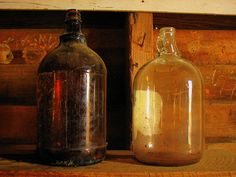 Craft Ideas for Glass Jugs
