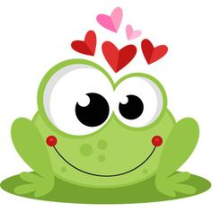 Frog in Love SVG scrapbook cut file cute clipart files for silhouette cricut pazzles free svgs free svg cuts cute cut files