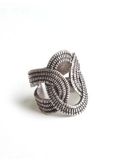LYLIF   Intertwined Ring - Rings - Jewelry   Women's Clothing and Accessories - StyleSays