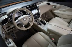 The 2015 Nissan Murano interior made it onto Ward's list for 2015
