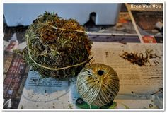 Krek Wak Wou: DIY: rustieke decoratie- en mosballen November 2013, Herbs, How To Make, Diy, Bricolage, Herb, Do It Yourself, Homemade, Diys