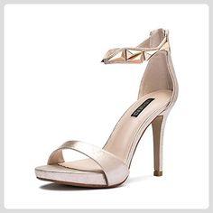 Damen Sommer Sandalen Pumps/Stiletto Schuhe mit Mode Damen high heel sexy Joker-B Fußlänge=23.3CM(9.2Inch) - Damen pumps (*Partner-Link)