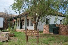 Historic Fort Apache, Arizona, ck