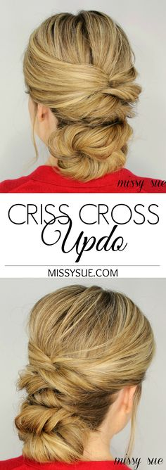 How To: Criss Cross Updo (with video)