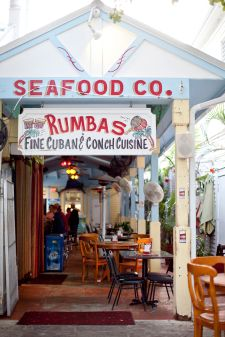 Rumbas Cuban Food Key West. Oh yes, I remember passing this! Never went there because I don't like fish.