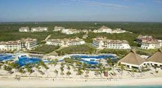 BlueBay Grand Esmeralda-All Inclusive Playa Del Carmen Located on the beach in the Riviera Maya district of Playa del Carmen, this all-inclusive hotel offers private beach access, an on-site spa, and several specialty restaurants.