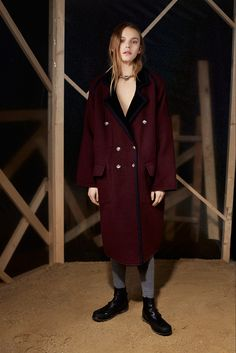 MM6 Maison Martin Margiela Pre-Fall 2015  Inspiration: a mash-up of Western Americana and Japanese styling
