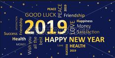 Happy New Year Card 2019 It's a perfect time to say goodbye to 2018 and welcome the New Year 2019 by sending beautiful best Happy New Year 2019 Wishes. Happy New Year 2016, Happy New Years Eve, Happy New Year Cards, Happy New Year Wishes, Happy New Year Greetings, New Year Wishes Quotes, Happy New Year Quotes, Quotes About New Year, New Year Gif