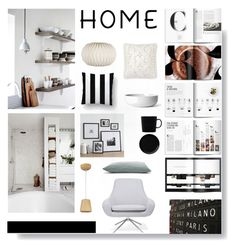 """""""It's good to be home...."""" by sue-mes ❤ liked on Polyvore featuring interior, interiors, interior design, home, home decor, interior decorating, Crate and Barrel, ET2, Softline and Broste Copenhagen"""