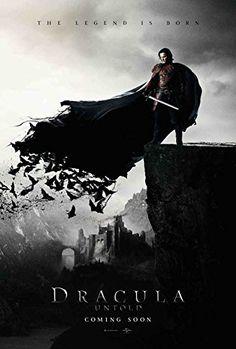 Dracula Untold Movie Poster 27 x 40 Style A 2014 Unframed @ niftywarehouse.com #NiftyWarehouse #Dracula #Vampires #ClassicHorrorMovies #Horror #Movies #Halloween #Vampire
