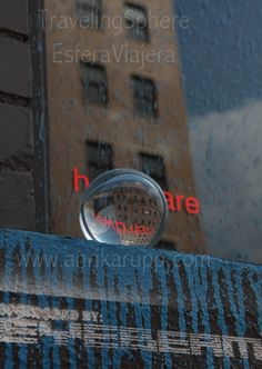 2010-8-8 Traveling Sphere - Esfera Viajera - Eyebeam Chelsea NY