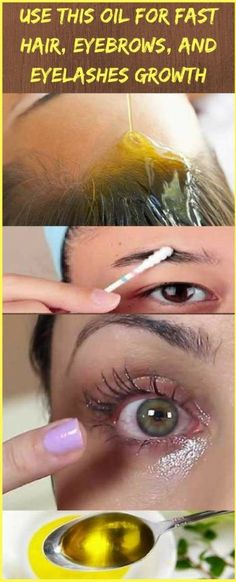 Use This Oil For Fast Hair, Eyebrows, and Eyelashes Growth | Wotips