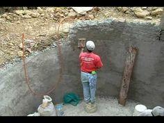 Cisterna de ferrocemento para 30 mil lt de agua de lluvia VI