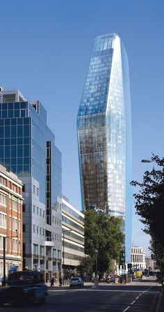 Uno de Blackfriars Road - Ian Simpson Architects - Londres, Reino Unido.