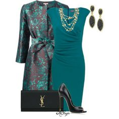 Dress outfit by #kginger on Polyvore