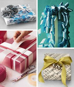 Image detail for -Creative Holiday Gift Wrapping Ideas | Blowout Party, making parties ...