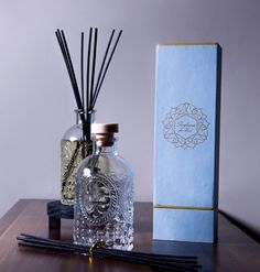 Handcrafted Perfume for your Home 200 ml Available Scents:  Fresh Linen, Bamboo & Water Lily and Red Tea & Cranberry