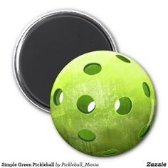 Simple Green Pickleball Magnet