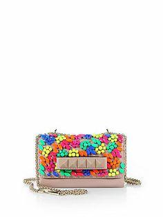 Valentino Va-Va-Voom Embellished Shoulder Bag #PinToWIn #wishlist