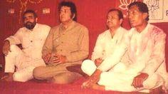 With Manoj Kumar