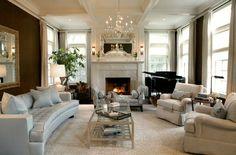 20 Great Fireplace Mantel Decorating Ideas | laurel home blog | interior design by Hunter Barnes